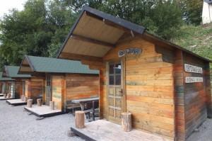 Habakuky - ubytovanie v chatkách