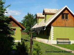 Zelená Chalúpka a Apartmánový domček
